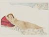 Venus III (nach Giorgione) Collage / Zeichnung 2004